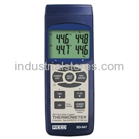 Reed SD-947DELUXE 4 Channel Thermocouple Thermometer Data Logger Kit