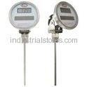 Dwyer DBTA3902 Bimetal Thermometer Solar-Powered Digital