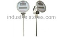 Dwyer DBTA3402 Bimetal Thermometer Solar-Powered Digital