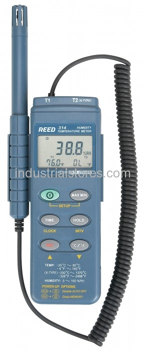 Reed C-314 Hygrometer Thermometer Datalogger