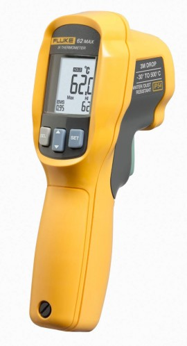 Fluke 62MAX Infrared Thermometer Dual Lasers