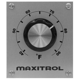 Maxitrol TD114C Remote Temperature Selector