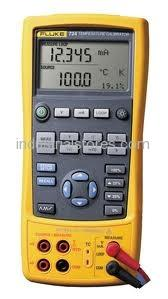 Fluke 724 Temperature Calibrator Rtd Thermocouple Ohms & Volts