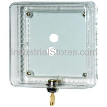 Honeywell TG510A1001 Tradeline Small UNIVERSAL Thermostat GUARD CLEAR COVER CLEAR BASE