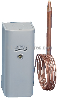 White-Rodgers 1609-90 Refrigeration Remote Bulb Temperature Control with 8-foot Capillary (-20 to 50F)
