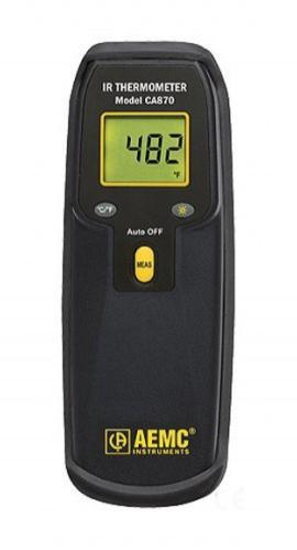 AEMC 2121.27 CA863 Thermometer Type K Dual -58 / 1999F