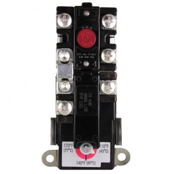 Rheem SP11698 Electric Water Heater Thermostat 2-Pole High Limit 170F Manual Reset
