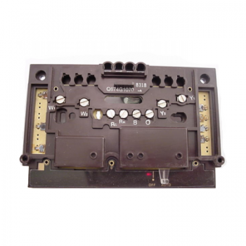 Honeywell Q674G1070 Off Auto Subbase For T874A-F