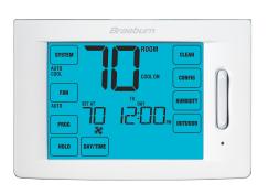 Braeburn 6400, 7 Day, 5-2 Day Thermostat w/ Humidity Control (4H/2C)