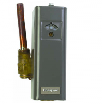 Honeywell L4006A1967 Single Function Aquastat SPST Breaks on Rise 100-240F 5-30F Fixed Differential