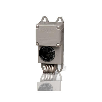 Peco TF115-001 Industrial Weather-Proof Control Thermostat 40F-110F Nema4X Stainless Steel SPDT Coiled Bulb