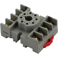 ICM Controls ACS-8 8-Pin Octal Plug-In Base for Plug-In Phase Monitors and Timers