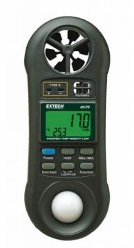 Extech 45170 4-in-1 Environmental Meter