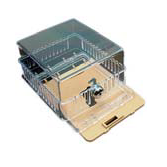 """York S1-DT-585-TG2 Clear Plastic Thermoststat Cover with 2 Bases 4-3/4"""" x 4-1/4"""" x 2-3/4"""""""