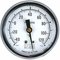 "Siemens Building Technology 142-0430 Gauge 1.5"" Dial -40-160F 1/4"" Barbed"